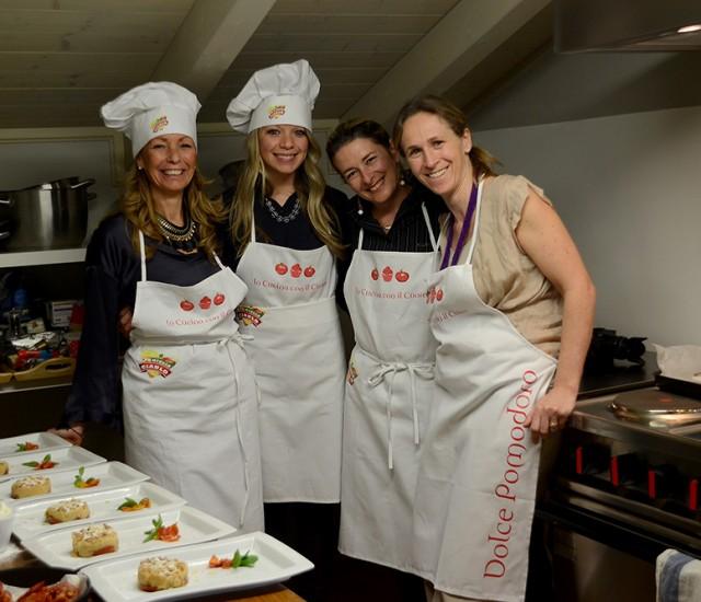 gruppo in cucina